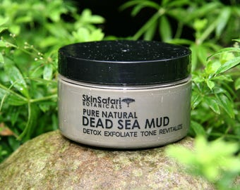 DEAD SEA MUD Mask, Pure, No Fillers 100% Natural for all skin types - Ready to Use