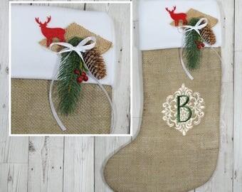 Initial stocking | Etsy