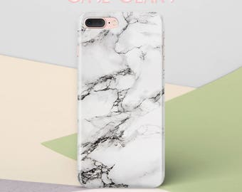 iPhone 8 Plus Case iPhone 8 Blue White Marble Phone Case iPhone 7 Plus Case iPhone 6 Case for Samsung S5 Case Galaxy S8 Samsung S7 CG1228