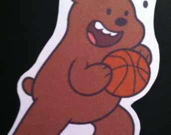 WBB - Grizzley Sticker