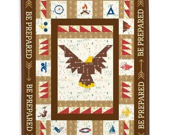 Boy Scout Quilt, Boy Scouts of America Quilt, Boy Quilt, Custom Quilt - Eagle Scout Quilt