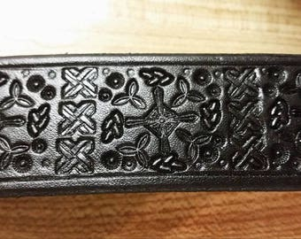 "2"" Black Celtic Cuff"