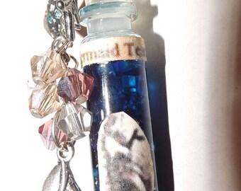 Mermaid tears in a bottle