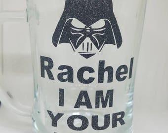 """Beer Mug - Personalized """"I am your mug"""""""