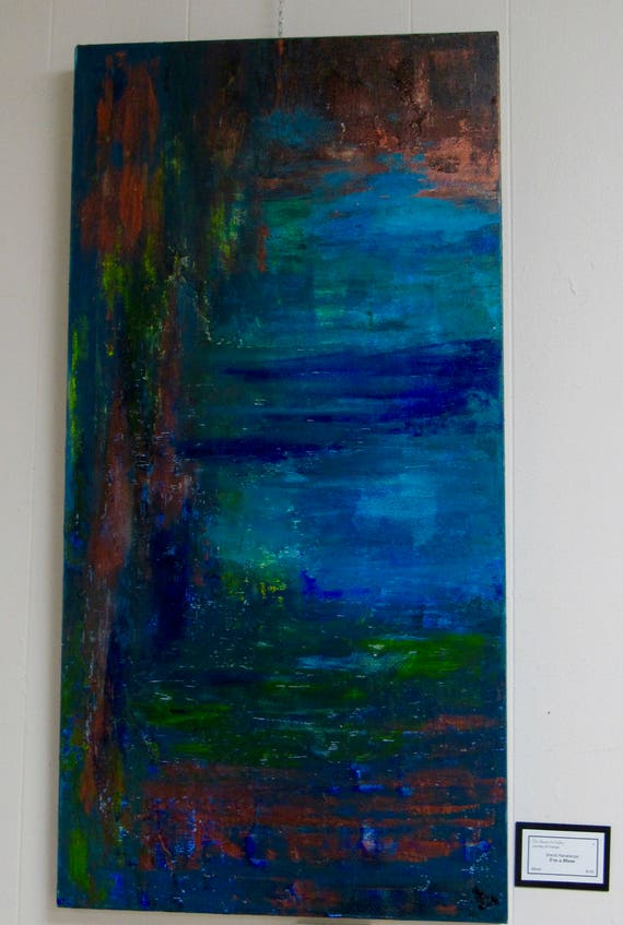 """Abstract Painting """"I'm A Mess"""""""