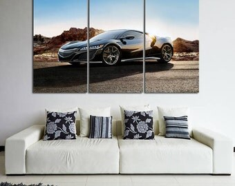 Acura  Acura NSX Print NSX Canvas Acura Photo nsx wall art Top Gear nsx Photo Acura Wall Decor Sport Car nsx Print nsx Poster Acura Wall Art