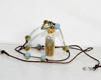 Mountain Lion Fur Trinket Necklace