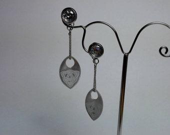 Earrings Scale on a Chain