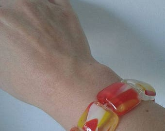 bracciale in vetrofusione