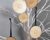 Viking Shields Ornament Set