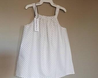 White Baby Girl Dress-small