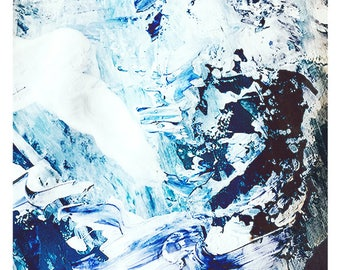 Abstract Water Print, Wall Art