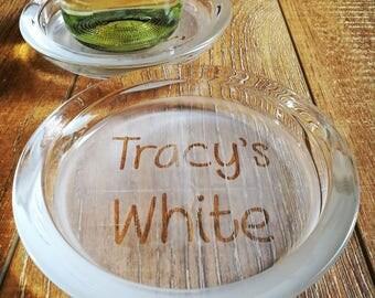 White Wine Bottle Coaster
