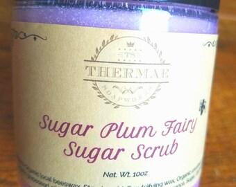 Emulsified Sugar Scrub - Sugar Plum Fairy