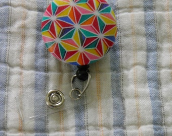 Rainbow Star Badge Reel