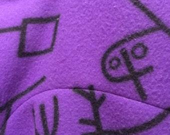 3/4 Zip Doodle Pullover