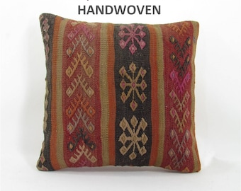 kilim pillow home decor kilim rug pillow cover throw pillow decorative pillows bedding bedroom decor pillows 000712
