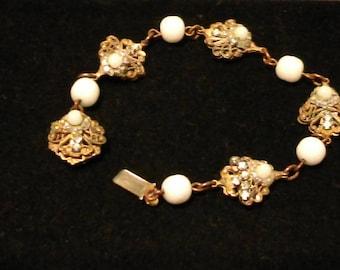 Antique Miriam Haskell Bracelet