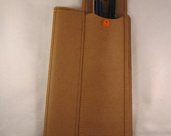 Pencil with folder for Travelers Notebook-TN Fauxdori-MonDori-SNAPPAP