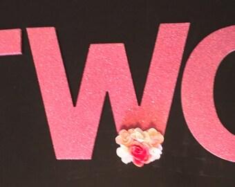 T-W-O Birthday Party/Photo Decoration