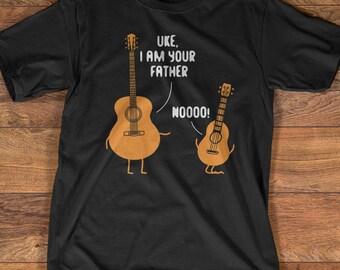 Guitar T-Shirt Gift: Uke I Am Your Father