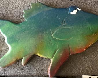 Beach House Colorful Fish Decor