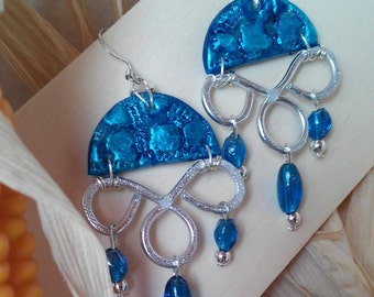 """Chandelier Earrings Line """"Artistic Mais Wire"""" Exclusive"""