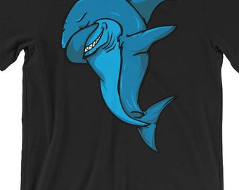 Dabbing Shark T-shirt, A Great White Shark Tee to Show Your Shark Love During Shark Week
