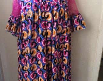 Ankara Midi dress