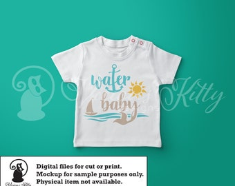 lake saying svg, lake life svg, summer baby svg, water svg, ai dxf emf eps pdf png psd svg svgz tif files for cricut, silhouette, brother