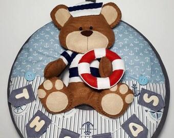 Sailor Bear Garland