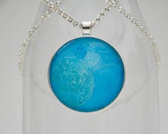 Spheres of Diversity Art Pendant Necklace