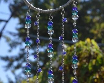 Purple & Teal Silver SunCatcher