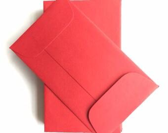 "CLEARANCE SALE: Mini Envelopes (3.75"" x 2.25"" - set of 20)"