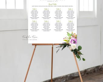 Digital Seating Chart - Peony Love (Style 0034)