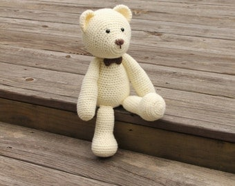 Crochet Toy Bear, Crochet Bear, Toy Bear, Teddy Bear, Crochet Teddy Bear, Amigurumi Bear, Bear Amigurumi, Stuffed Bear, Bear,Mrs Vs Crochet