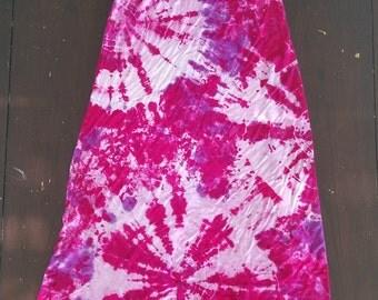 Tie Dye Maxi Skirt - Women's MED