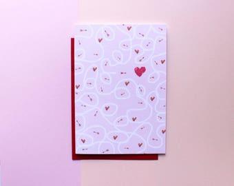 valentines card valentines day valentines gift her valentines gift him love hearts