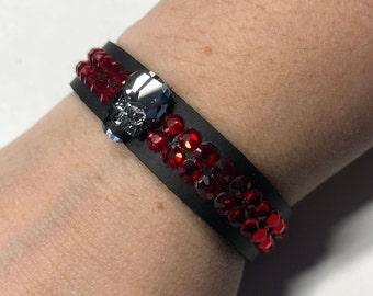 Swarovski Skull bracelet