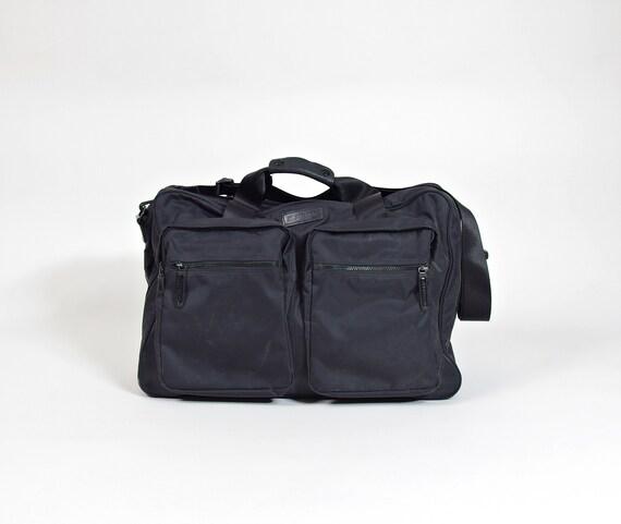 Vtg Jil Sander minimalist luggage travel bag