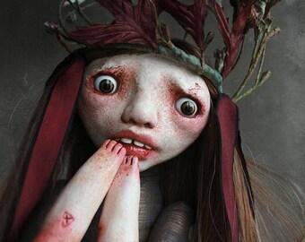 art doll - ooak - JESNA
