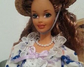 OOAK Barbie Victorian summer