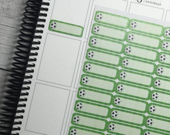 Soccer planner stickers | sports planner stickers | AHF005