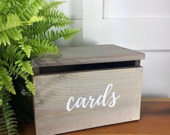 Wood Card Box   Wedding Wooden Card Box   Graduation Card Box   Bridal Shower  Card