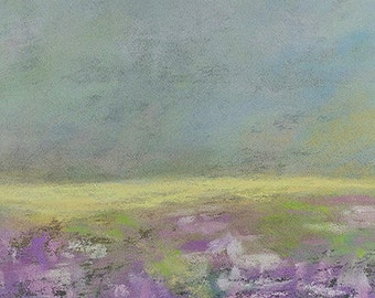 "Original Pastel Painting ""Softly"""