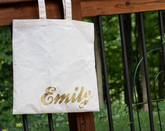 Custom Tote bag-gift-daughter-wedding-bridesmaid