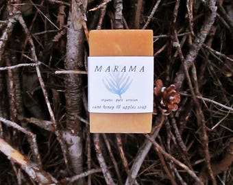 WARM - ecological SOAP, vegan & solidarity of organic apples and honey