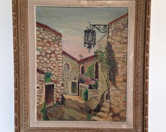 FASSINA signed oil painting