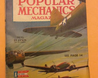 August 1944 Popular Mechanics post D-Day invasion