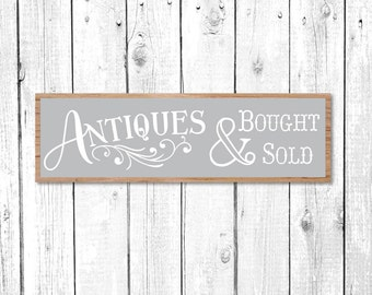 Magnolia Market Vector, Vintage Market Sign, Magnolia Farms SVG, Antiques SVG, Joanna Gaines, Cuttable, Print, Cut File, Silhouette Cameo 3